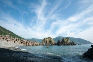 龜山島是隻大母龜