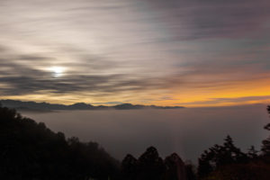 太平山雲海日出