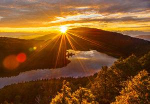 太平山日出