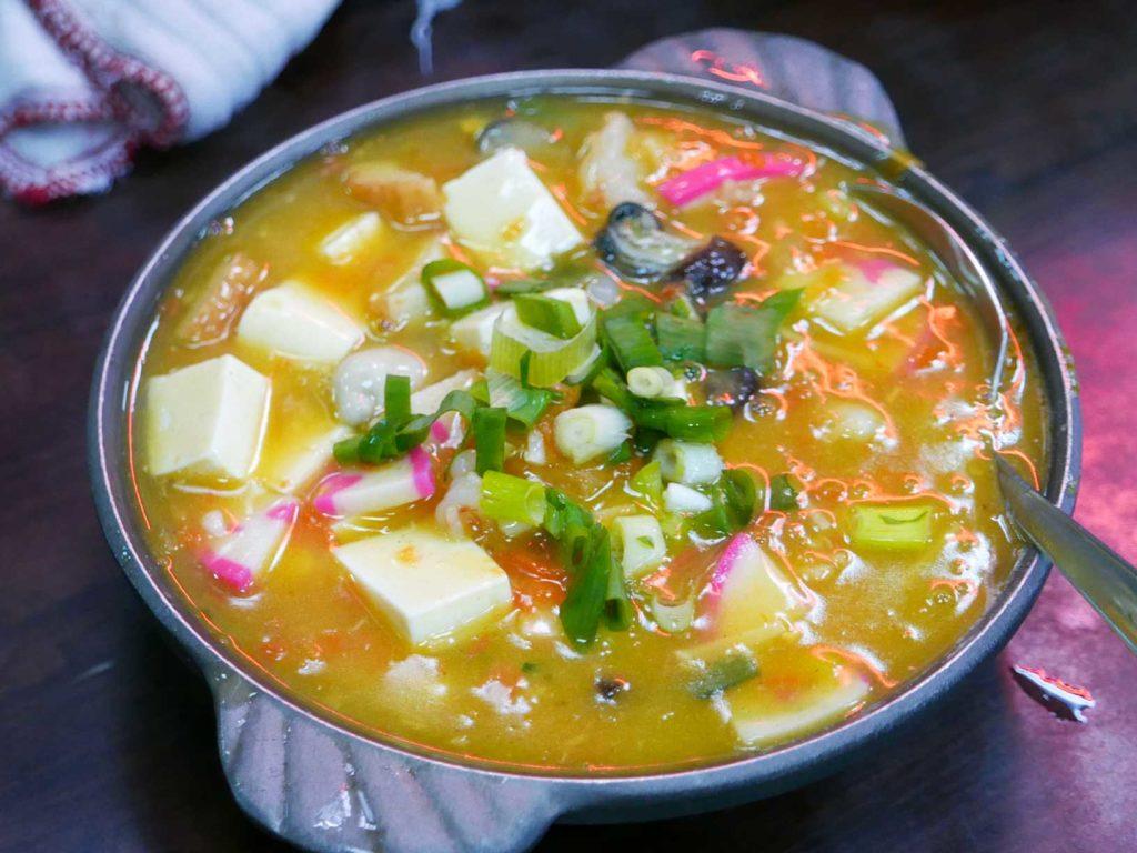 蟹黃豆腐煲-羅東魚村