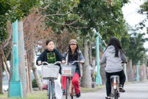 冬山河騎單車