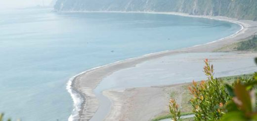 清水斷涯海岸風光